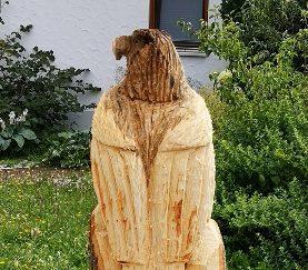 Adler und Eule in Eschach